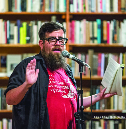 Mighty Mike Mcgee Brings National Poetry Month To
