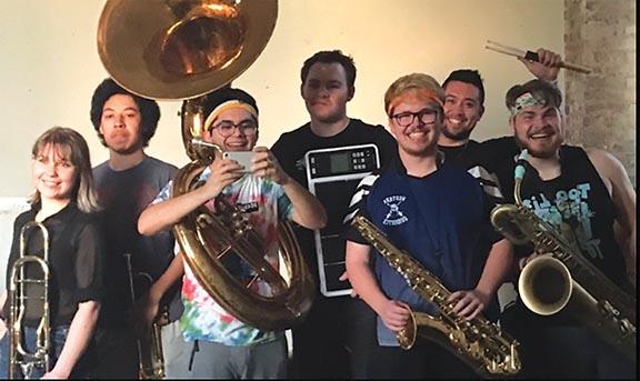 brass band web