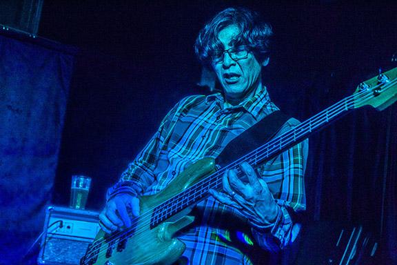 Stereo Donkey bassist Hiro Yamamoto! PHOTO BY CHRIS BUTCHER